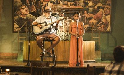 ブランカとギター弾き
